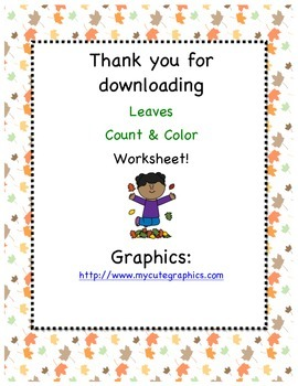 Counting and Coloring: Leaves