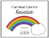 Counting and Colors in Hawaiian Printable Books