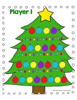 Counting and Comparing Numbers Math Centers (Merry Holiday Theme) - CCSS Aligned