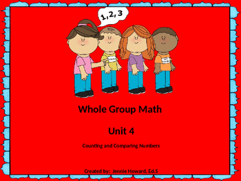Counting and Comparing Numbers (Unit 4 and Unit 5)
