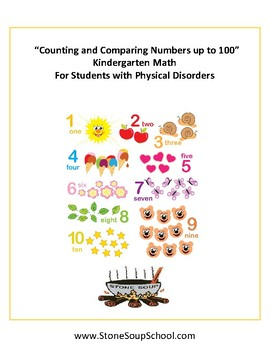 K Counting and Comparing Numbers to 100- Students with Physical Disabilities