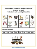 K - Counting and Comparing Numbers to 100 - For Students w/Learning Disabilities