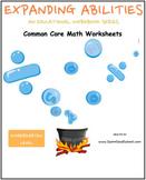 K, CCS: Math Bundle, Counting, M&D, Alg, Geo, Base 10 For