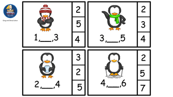 Counting and Finding The Number That Comes Between 2 Given Numbers