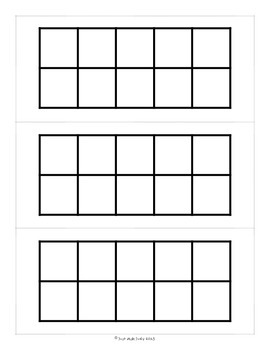 Spring Theme FREEBIE Counting and Grouping by Tens or Fives- Treasure Reports