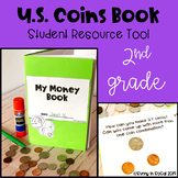 Counting and Identifying Coins Book 2nd Grade