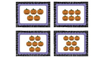 Counting and Making 10 Halloween Theme