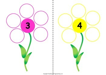 Counting and Making Flowers