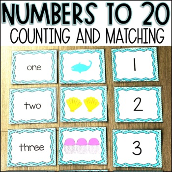 Counting and Matching Numbers 1-20