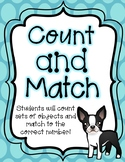 Counting and Matching Teen Numbers Activity