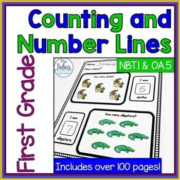 Counting and Number Lines CCS 1.OA.5 1.NBT.1