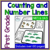Back to School Math First Grade Counting and Number Lines
