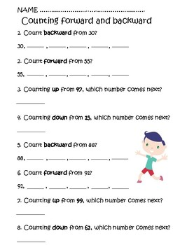 Counting and Number Patterns. 1st Grade
