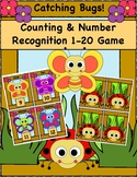 "Counting and Number Recognition 1-20 Game, ""Catching Bugs!"""