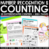 Counting and Number Recognition Centers Mega Pack