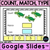 Counting and Number Recognition for Google Classroom™