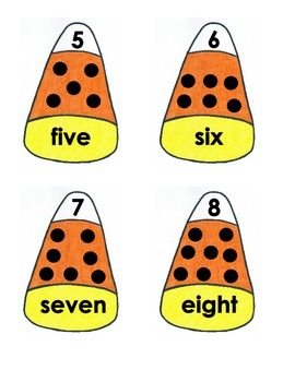 Counting and Number Recognition - Halloween