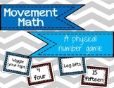 Counting and Number Recognition - Movement Math