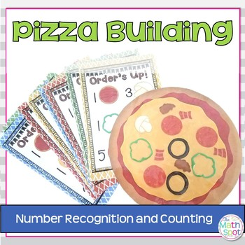 Counting and Number Recognition Pizza Building