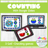 Counting and Numeral Recognition for Google Classroom -Dis