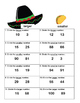 Counting and Ordering Numbers-First Grade Math Practice-Cinco de Mayo Theme