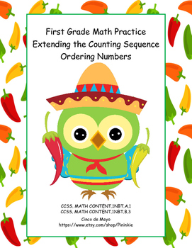 Counting and Ordering Numbers-First Grade Math Practice-Ci