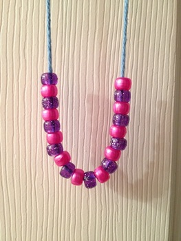 Counting and Patterns - Making Bead Necklaces!