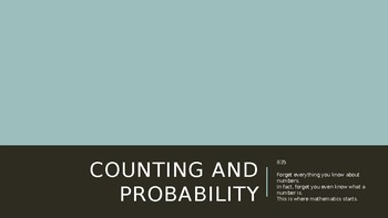 Counting and Probability