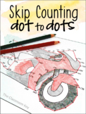 Skip Counting Dot-to-Dots Activities Worksheets