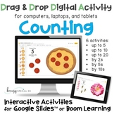 Counting and Skip Counting Interactive Digital Activities
