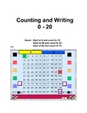 Counting and Writing 0 -20