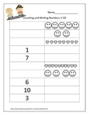 Counting and Writing Numbers 0-20
