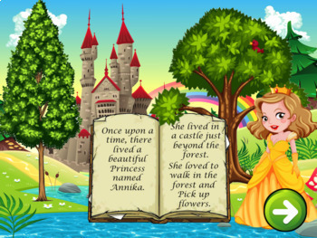 Counting Numbers 1-100 Interactive Powerpoint game- Help the Princess!