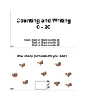 Counting and Writing to Twenty