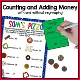 Counting and adding money: with and without regrouping
