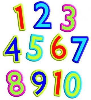 Counting and spelling numbers 1-10