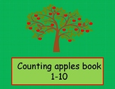 Counting apples printable book