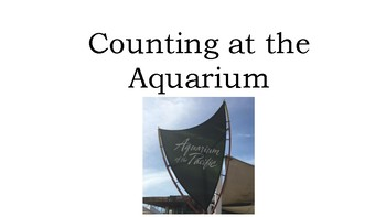 Counting at the Aquarium (Counting 1-10) Adapted Book