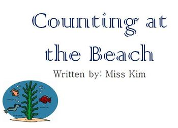 Counting at the Beach- adapted book