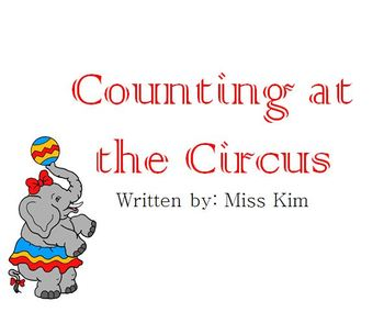 Counting at the Circus- adapted book