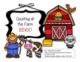 Counting at the Farm BINGO!