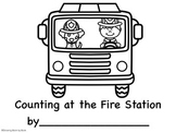 Counting at the Fire Station Printable Book