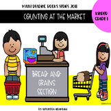 Counting at the Market - Bread  and Grains - Math Concept Reading book