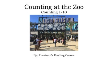 Counting at the Zoo (Counting 1-10) Adapted Book