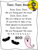 Counting backward from 10.  Halloween Craftivity. Zoom, Zoom, Broom.