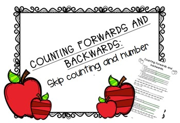 Counting backwards and forwards: Skip counting and number lines