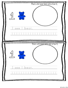 Counting bears: Mega pack: Numbers, measurement, positional words, more/fewer