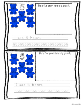 Numbers  Mega pack with counting bears