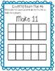 Counting bears mat--#s 1-20