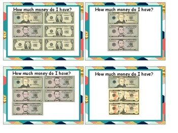 Counting bills to $200.00